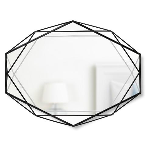 Зеркало настенное PRISMA чёрный