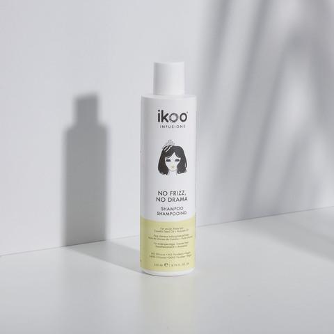 Шампунь для непослушных и пушистых волос ikoo infusions  No Frizz, No Drama Shampoo «УКРОЩЕНИЕ СТРОПТИВЫХ» 250 мл.