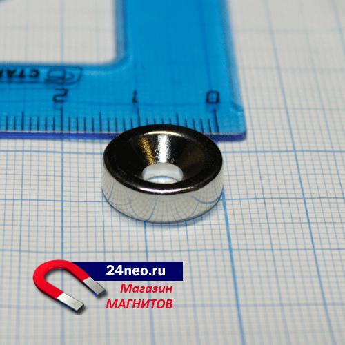 Неодимовый магнит кольцо 15Х5Х5