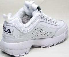 Модные кроссовки на зиму Fila Disruptor II