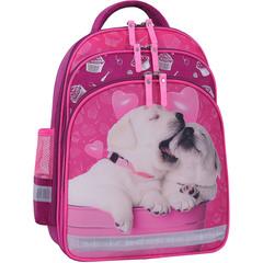 Рюкзак школьный Bagland Mouse 143 малиновый 593 (0051370)