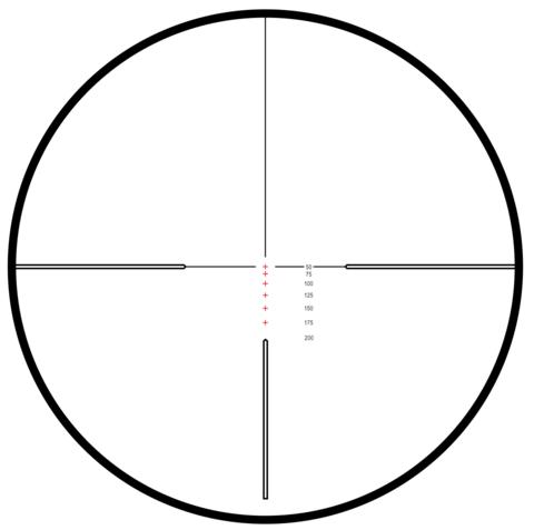 Оптический прицел Hawke Vantage IR 3-9x40 (.22 LR HV, 9x) HIGH VELOCITY