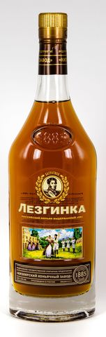 Коньяк выдержанный Лезгинка Кв 40* Алкомаркет 0,5л