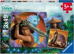Puzzle RAD:Raya and Last Dragon 3x49 pcs