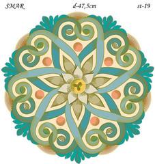 Эскиз для росписи, Круг диаметр-47,5см, SMAR-st-19