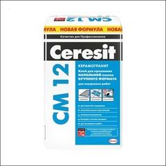 Клей для напольной плитки для внутренних работ CERESIT СМ 12 (белый)