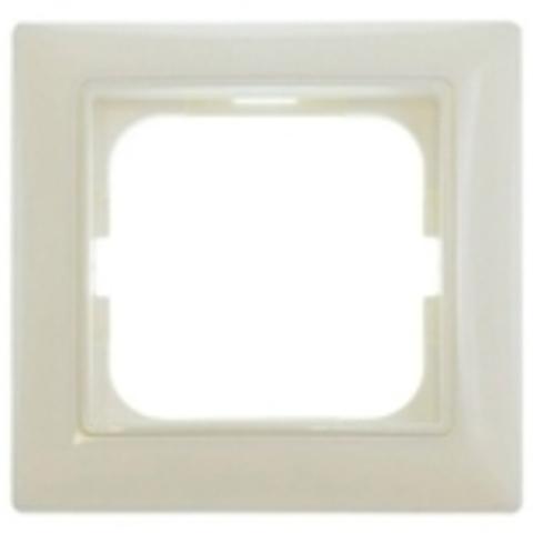 Рамка на 1 пост. Цвет слоновая кость. ABB(АББ). Basic 55(Бейсик 55). 1725-0-1484