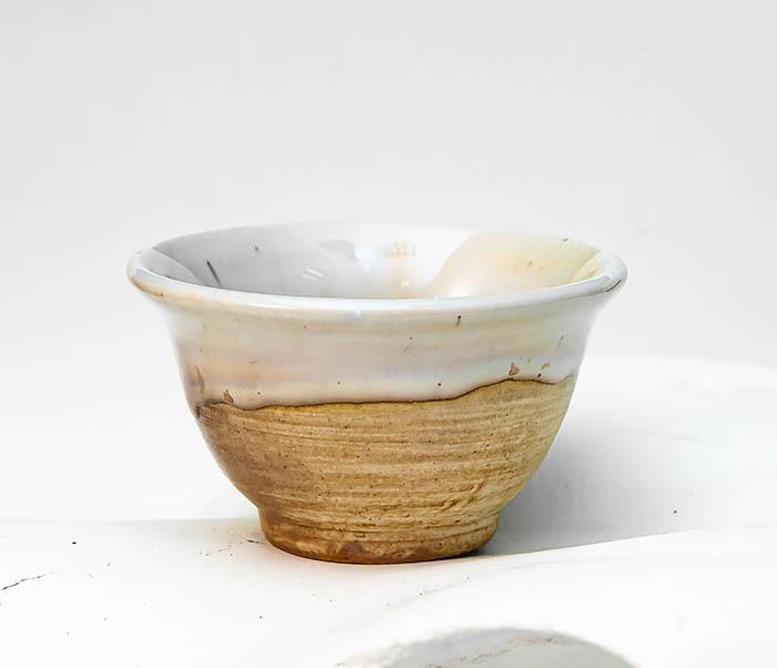 CUP113 Глиняная пиала для чая, ручная работа