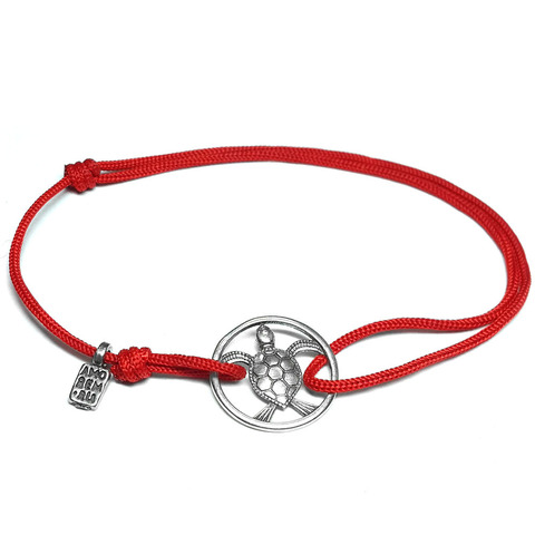 Sea Turtle Bracelet, sterling silver
