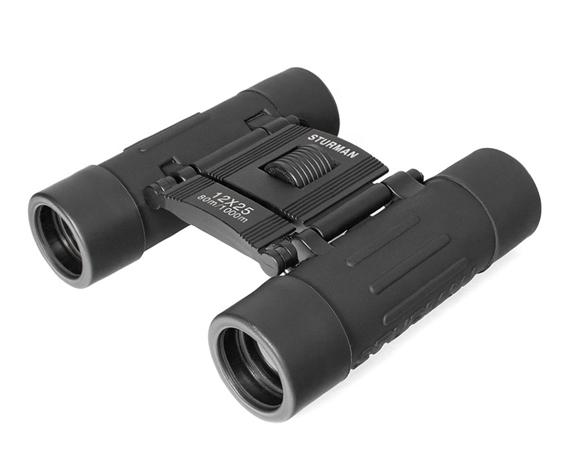 Бинокль Sturman 12x25 чёрный - фото 1