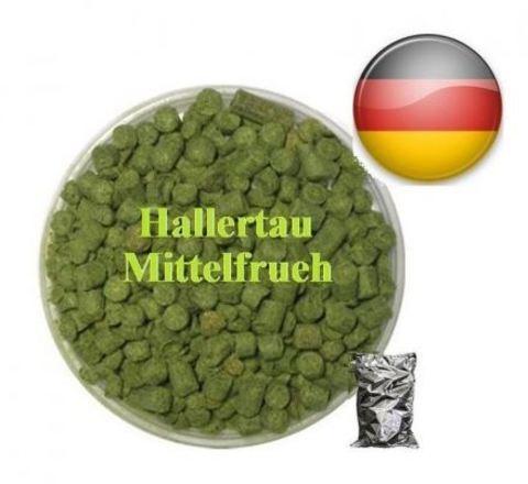 Хмель Халлертау Миттельфрю (Hallrtau Mittelfrueh), α-4.4%