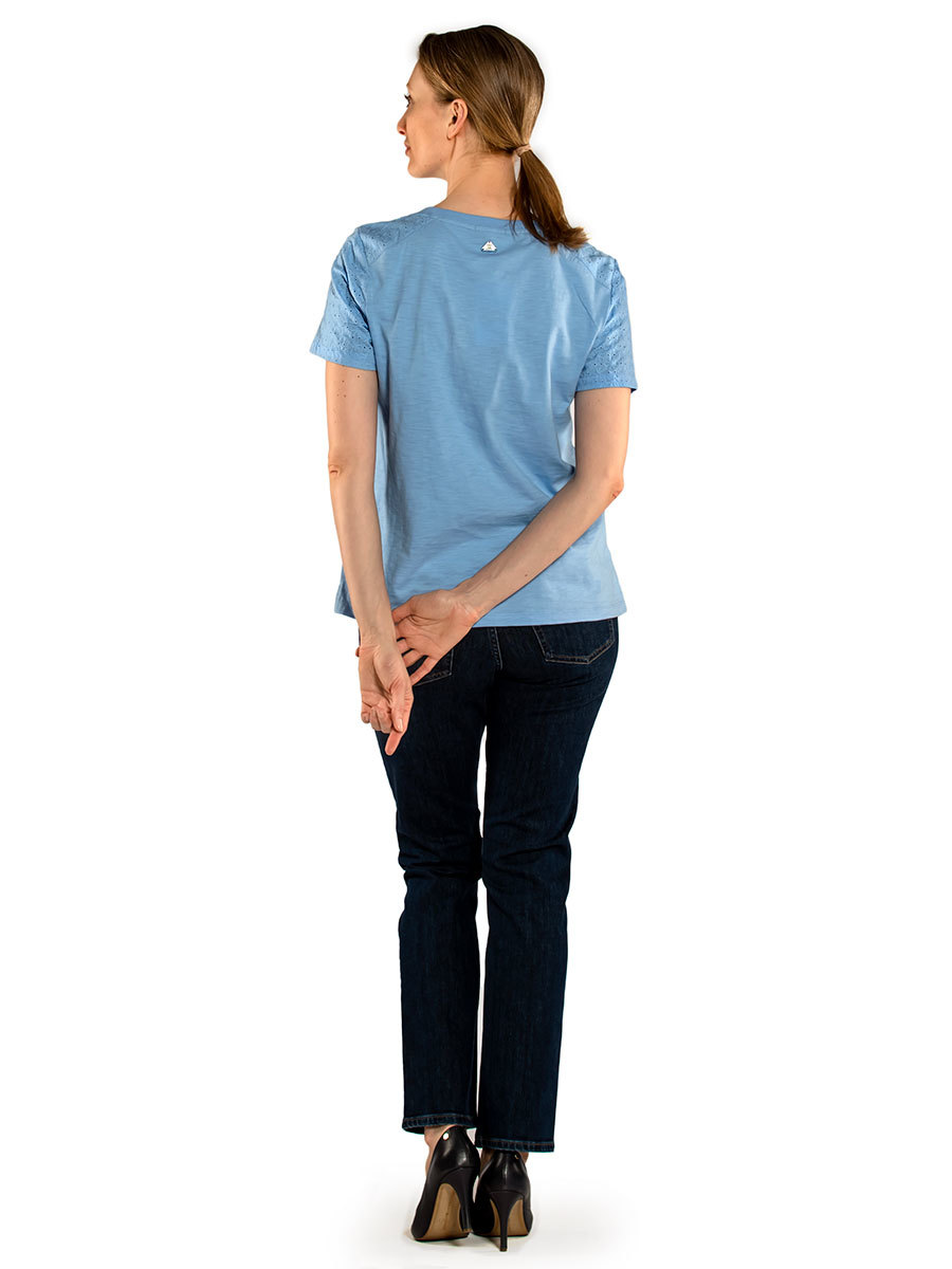 Barbour футболка Springtide Top LML0721/BL19