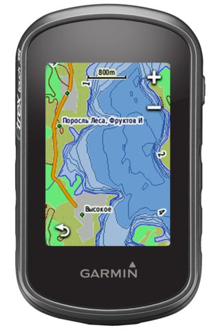Навигатор Garmin eTrex Touch 35 GPS/Глонасс  Russia