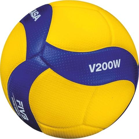 Мяч волейбольный Mikasa V200W FIVB Approved