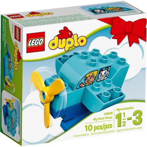 LEGO Duplo: Мой первый самолет 10849 — My First Plane — Лего Дупло