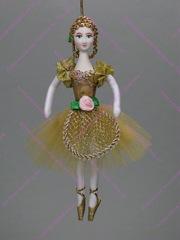 Ёлочная игрушка балерина Пастушка