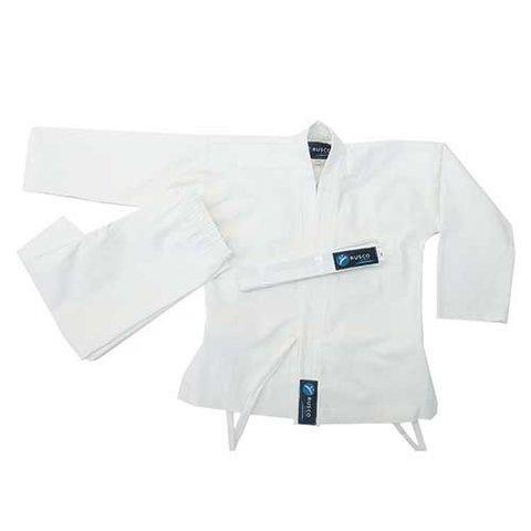 Кимоно карате для начинающих ES-0497 рост 130 (белое)