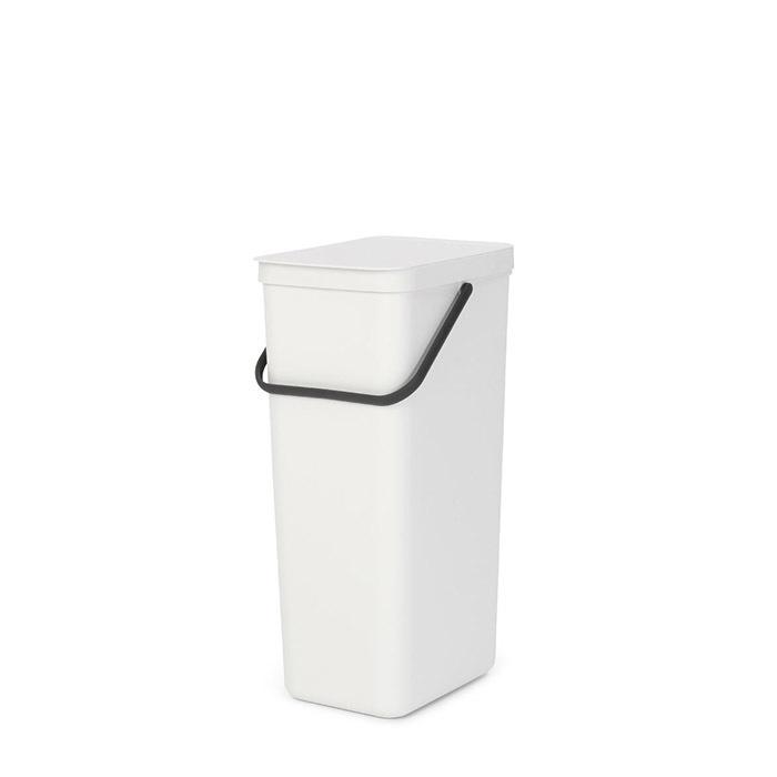 Встраиваемое мусорное ведро Sort & Go (40 л), Белый, арт. 251061 - фото 1