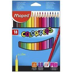 Karandaş Color Peps Maped 18 rəng