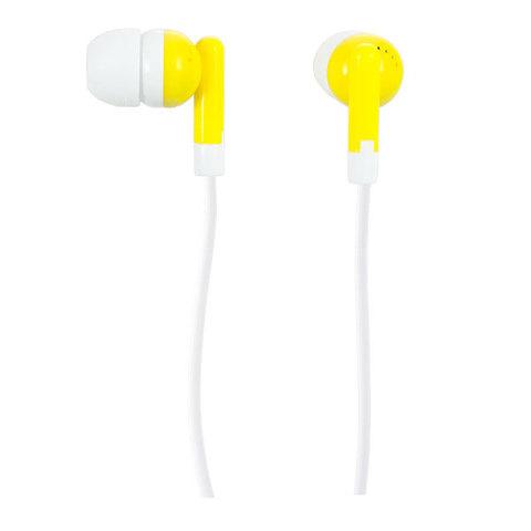 Наушники Perfeo PF-NNM, желтые