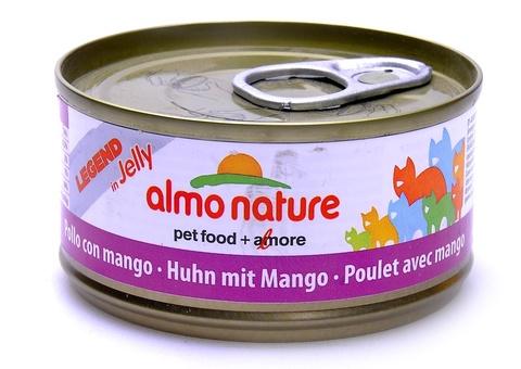 Консервы (банка) Almo Nature Legend Adult Cat Chicken&Mango