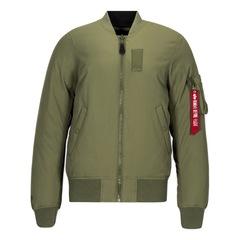 Alpha Industries MA-1 Down Flight Jacket Sage Green/Black