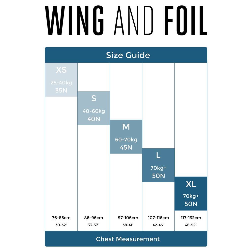 Wing & Foil Personal flotation devices