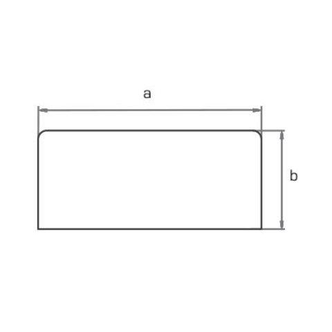 Экран для стола прямоугольный 140х60 см МОНО-ЛЮКС