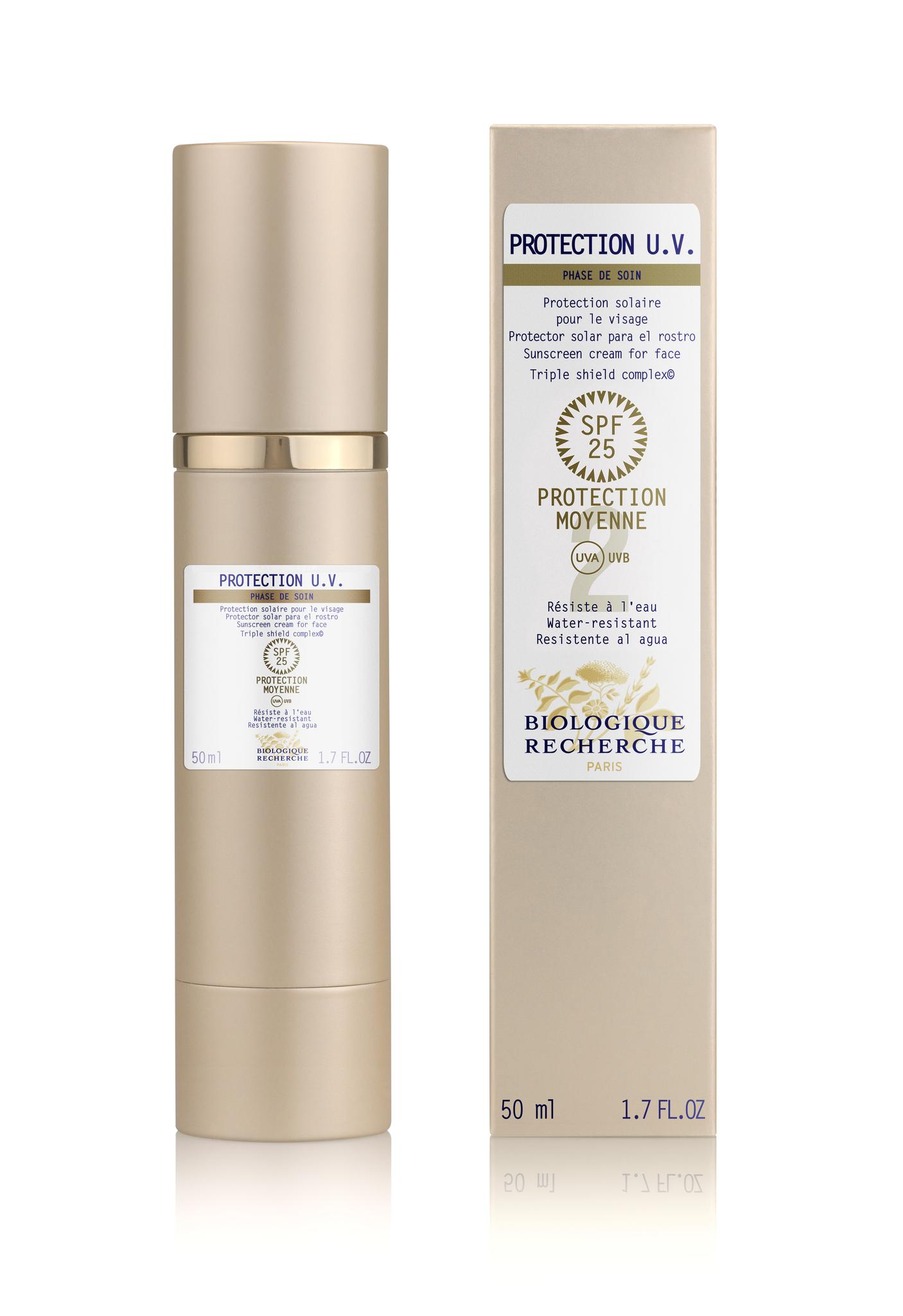 Крем-флюид для защиты от ультрафиолетового излучения BIOLOGIQUE RECHERCHE Protection UV 50 мл