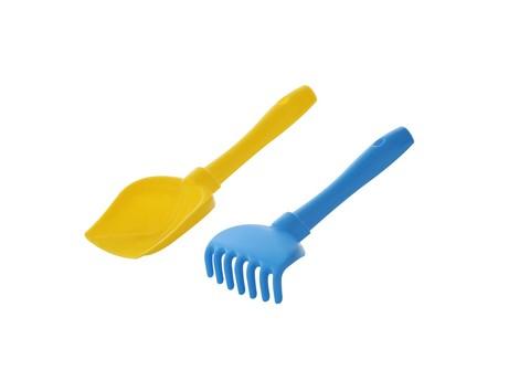 Набор №72 (лопатка и грабельки), цвет в ассортименте, Полесье, 4710