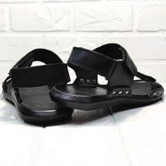 Трекинговые сандалии босоножки с открытой пяткой Zlett 7083 Black.
