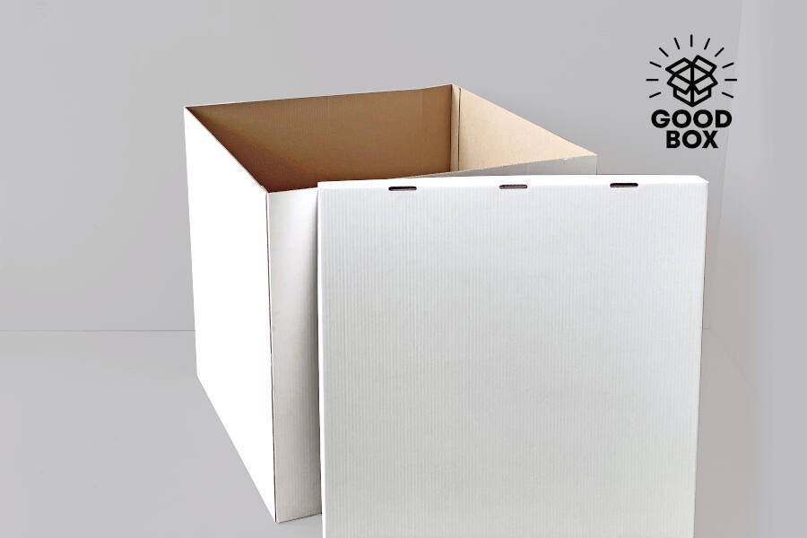 Подарочная коробка для шаров недорого