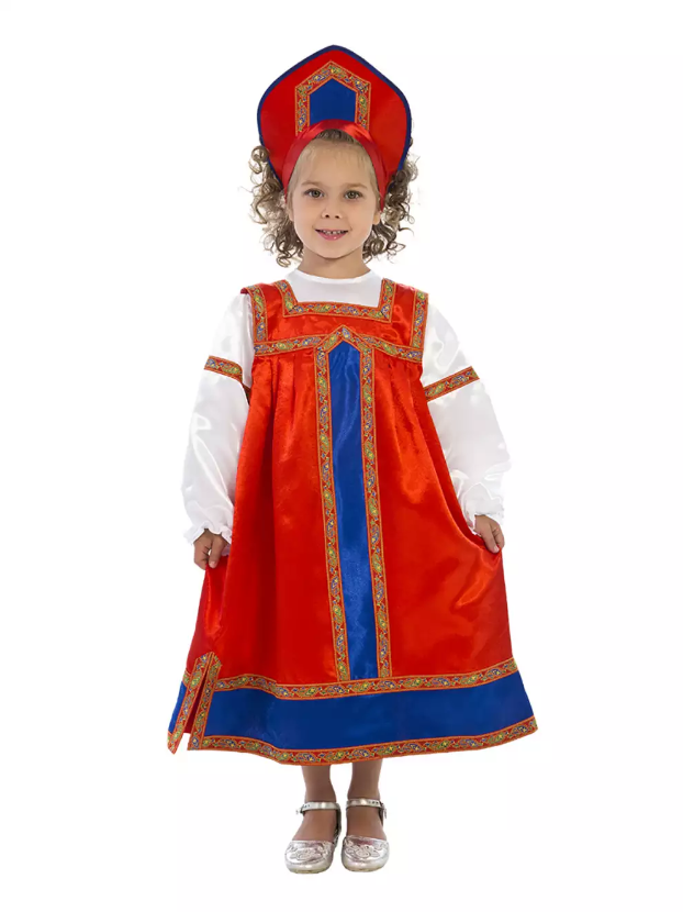 Карнавальный костюм детский Маруся
