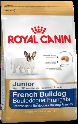 Для щенков породы французский бульдог в возрасте до 12 месяцев