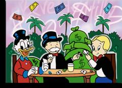"Постер ""Monopoly, Rich and McDuck"""