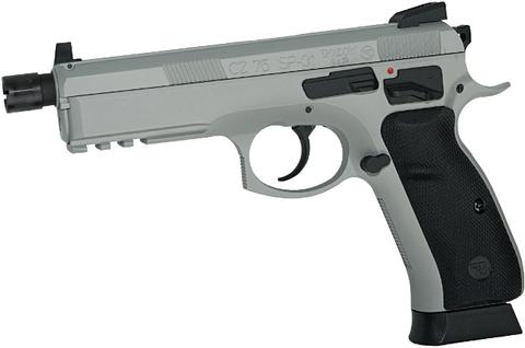 Страйкбольный пистолет CZ SP-01 Shadow urban grey Blowback, металлический, подвижный затвор, СО2 (Артикул 18916)