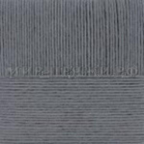 Купить Пряжа Пехорка Перспективная Код цвета 096-Серый меланж | Интернет-магазин пряжи «Пряха»