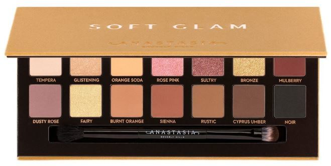 Anastasia Beverly Hills Soft Glam палетка теней