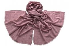 Палантин из вискозы розовый 2152