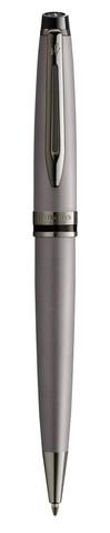 Ручка шариковая Waterman Expert Silver, цвет чернил Mblue123