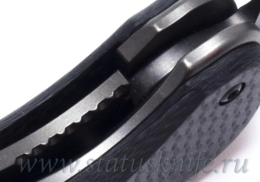 Нож Akribis Meteorite Grey ZrN-PVD Spartan Blades - фотография