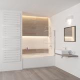 Шторка на ванну RGW SC-02 100х150 03110210-11 прозрачное