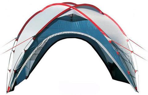 Туристический тент-шатер Canadian Camper Space One (со стенками) синий