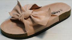 Стильные шлепанцы женские Comer SAR-15 Pink.