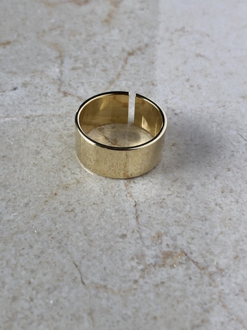 Кольцо Классикнео, позолота