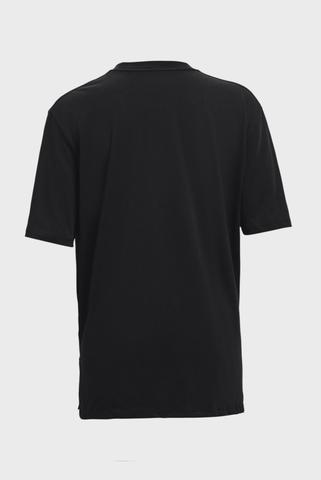 Женская черная футболка Oversized Graphic SS-BLK Under Armour
