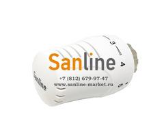 Термостатическая головка М30х1,5 Sanline с жидкостным датчиком Арт.TH-PR