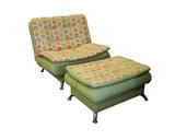 Кресло и пуф Сити
