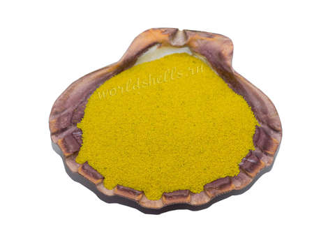 Желтый кварцевый песок 1 кг.