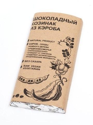 Шоколад из кэроба Шоколадный Козинак 100г БК Урожай